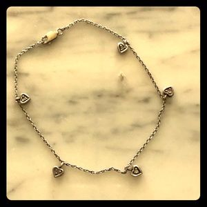 Jewelry - Ankle bracelet sterling silver stamped 925